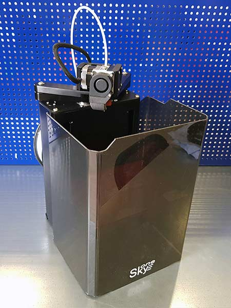 3D printer SkyOne. From an intention to the implementation.